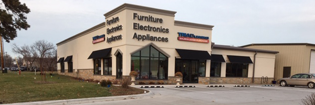 image of Triad Leasing furniture store, Lawrence, KS